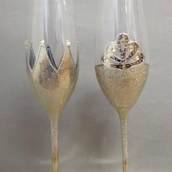 Чаши Корони с камъни Swarovski