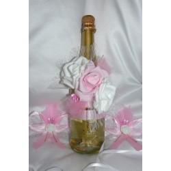 Шампанско с украса Рози-03