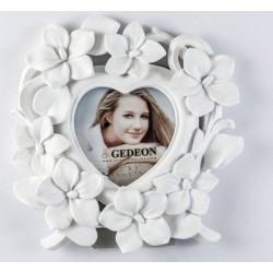 Рамка за снимки Сърце-цветя
