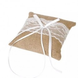 Възглавничка за халки рустик, зебло