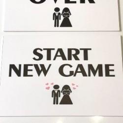Сватбена табела Start New Game