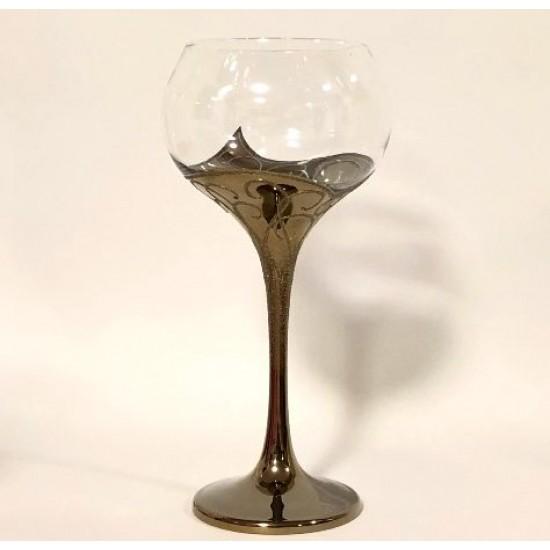 Сватбен бокал, метализиран