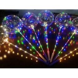 LED Светещи балони с дръжка – 40 см.