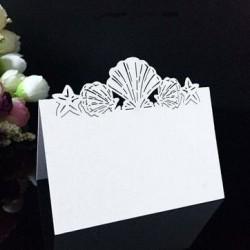 Табелка за маса, тейбъл картичка морски мотиви