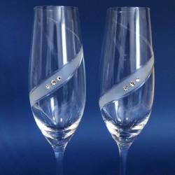 Кристални ритуални чаши, кристали Сваровски
