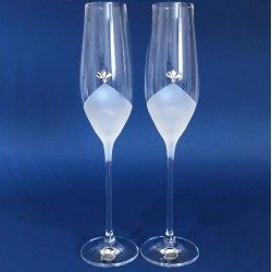 Кристални ритуални чаши В, кристали Сваровски