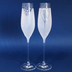 Кристални ритуални чаши С, кристали Сваровски