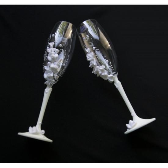 Ритуални чаши Роза и Кала №1