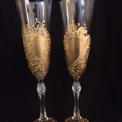 """Ритуални чаши """"Златни сърца"""""""