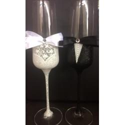 """Ритуални чаши """"Панделки 2"""""""