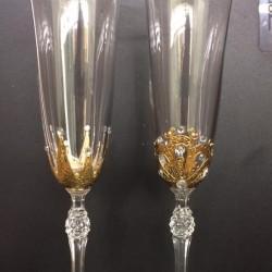 "Ритуални чаши ""Златни корони"""